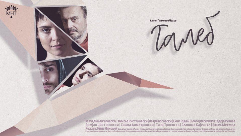"""Светскиот класик """"Галеб"""" третпат на сцената на МНТ, овојпат во режија на Нина Николиќ"""