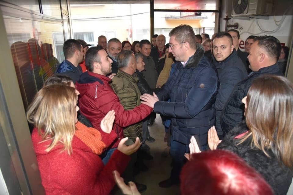 Мицкоски од Крушево порача: На Македонија ѝ треба премиер кој ќе споделува вистински европски вредности, а не прикриен афрички монарх