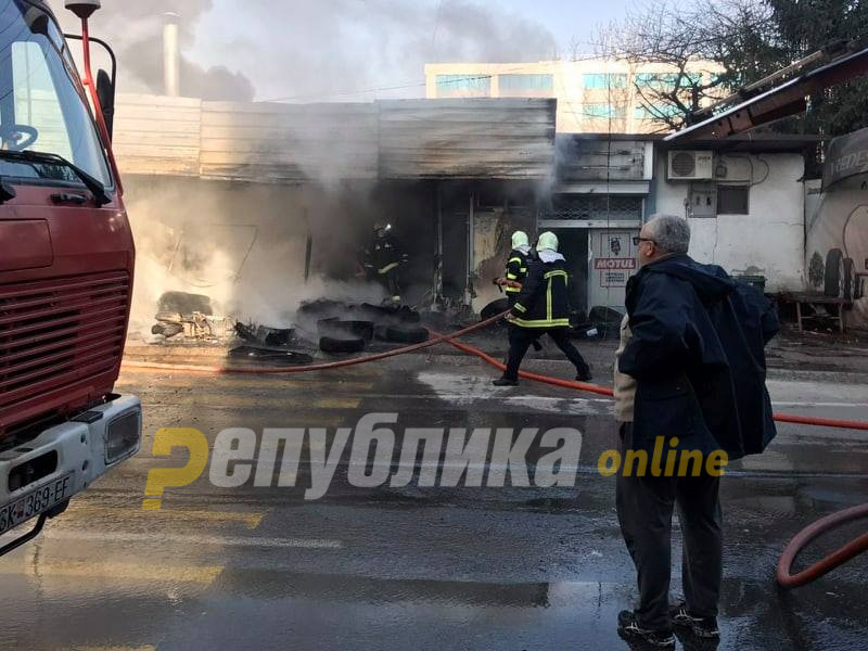 Младо момче изгорело во пожарот