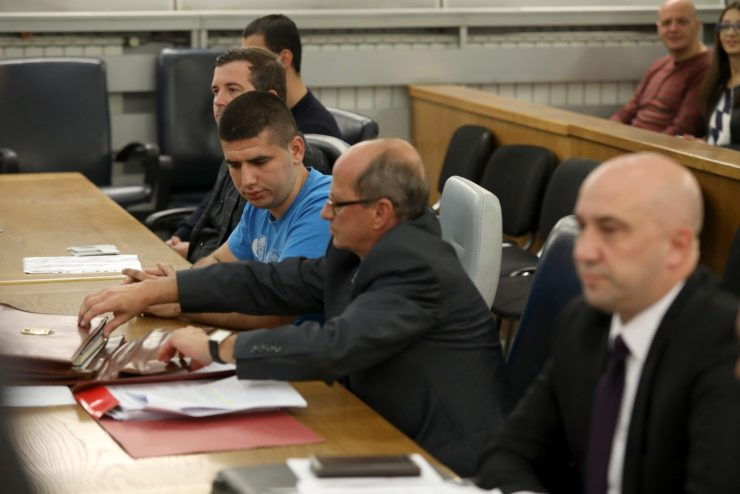 Јавноста исклучена од судењето за Саздовски, се гледаат снимки од препознавање
