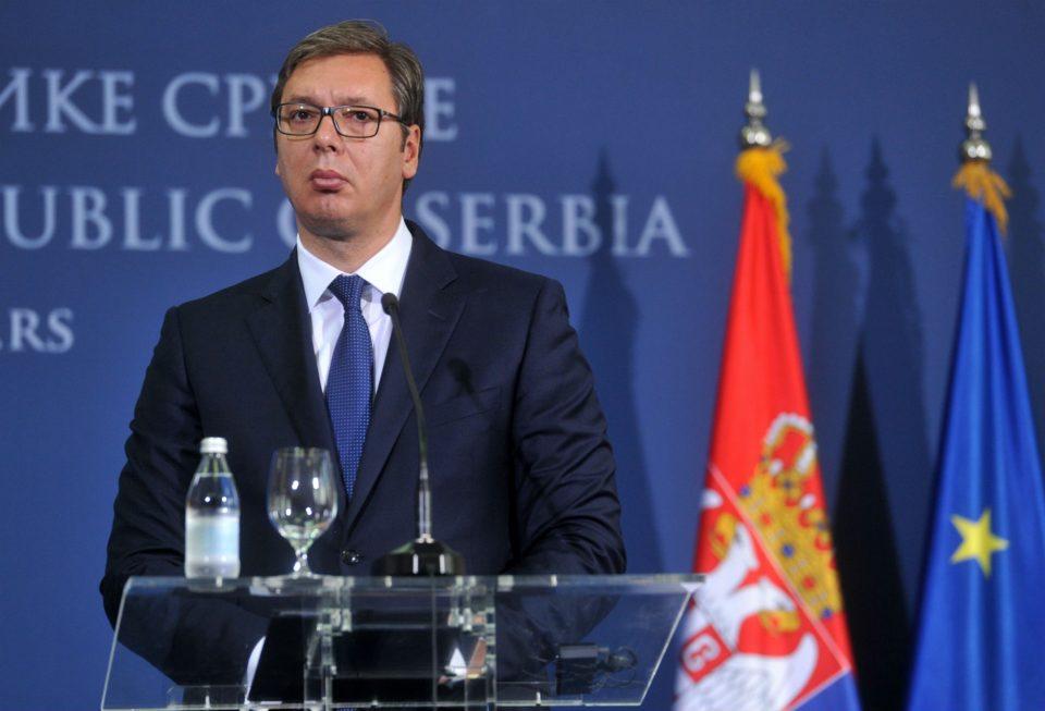 Вучиќ: Нема за што да разговарам со претставници од Приштина