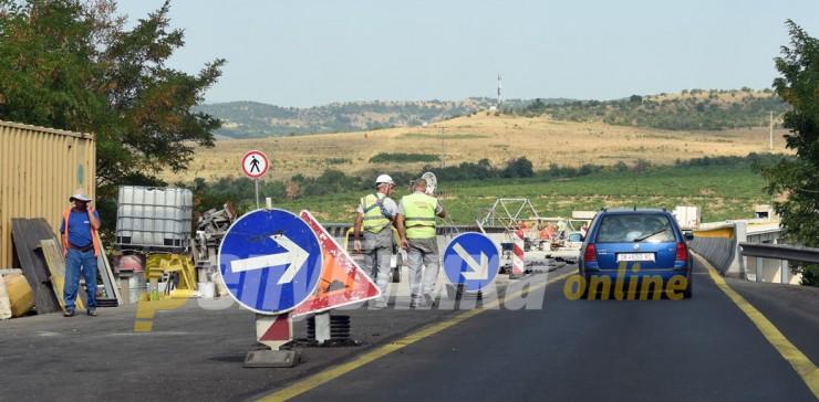 Променет режим на сообраќај на два патни правци