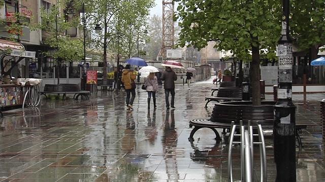 Прогноза на УХМР за викендов: В сабота попладне дожд, в недела снег