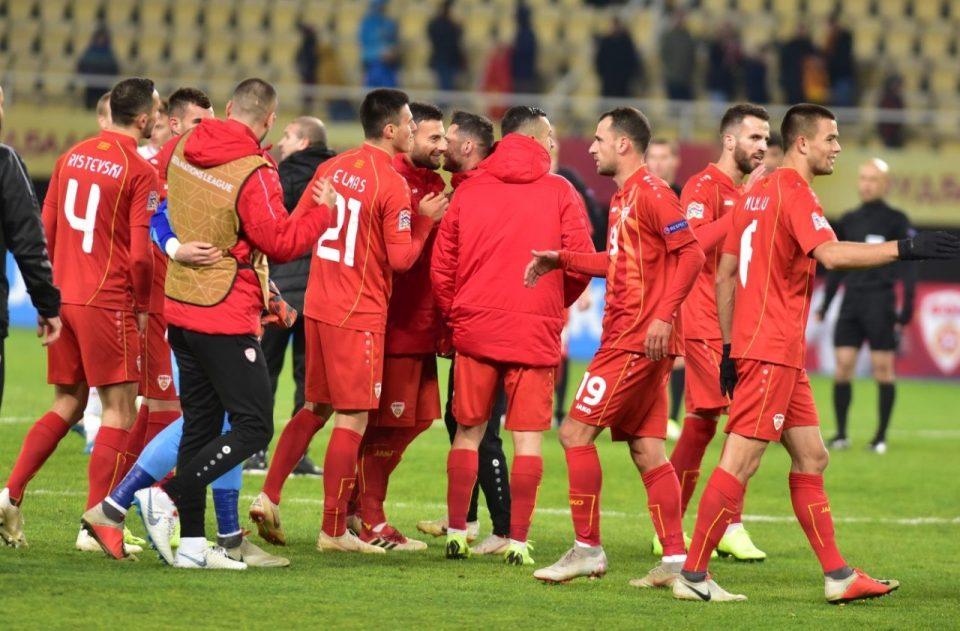 Maкедонија на први јуни на тест меч со Словенија