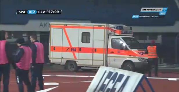 Голманот Милан Борјан итно пренесен во болница