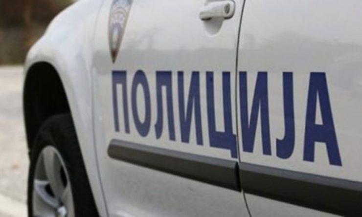 Полицијата во потрага по лице кое удрило во мотор и избегало од местото на несреќата
