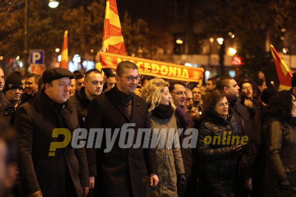 Мицкоски: Изборите кои следат се одлука за тоа каква Македонија сакаме