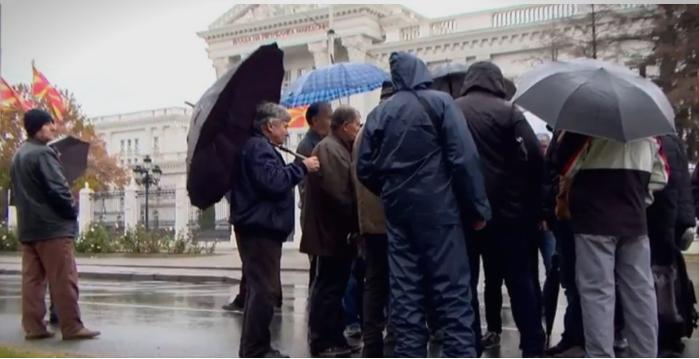 Вработените на Охис повторно пред Влада:1200 вработени си ги бараат 24-те плати