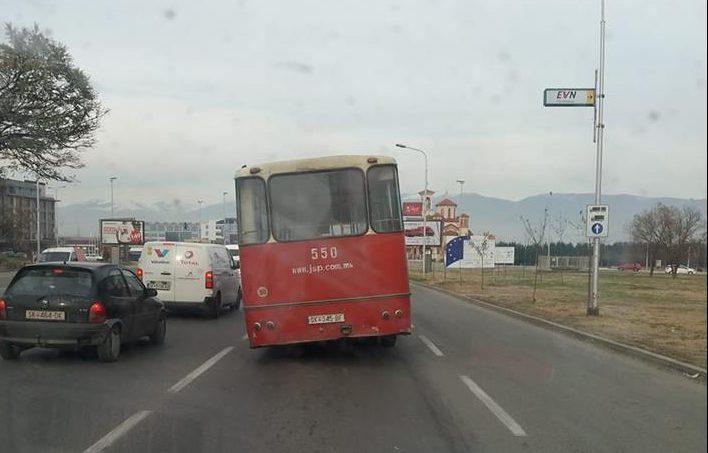 Во македонската метропола автобус се чека и по 80 минути