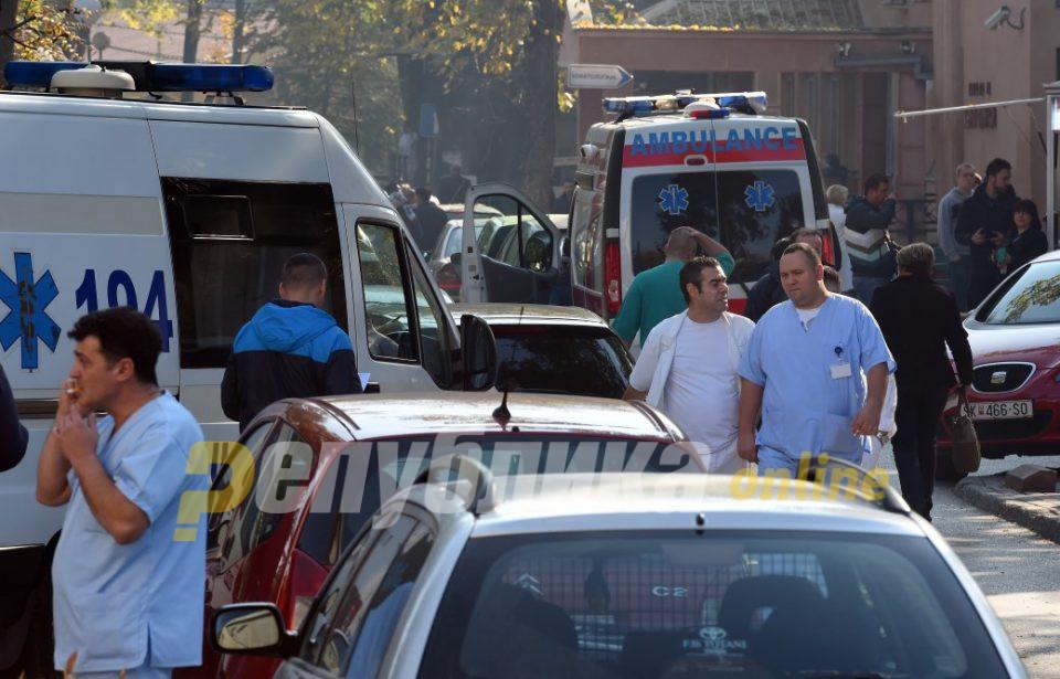 """Клиничкиот центар """"Мајка Тереза"""" опишан во две фотографии"""