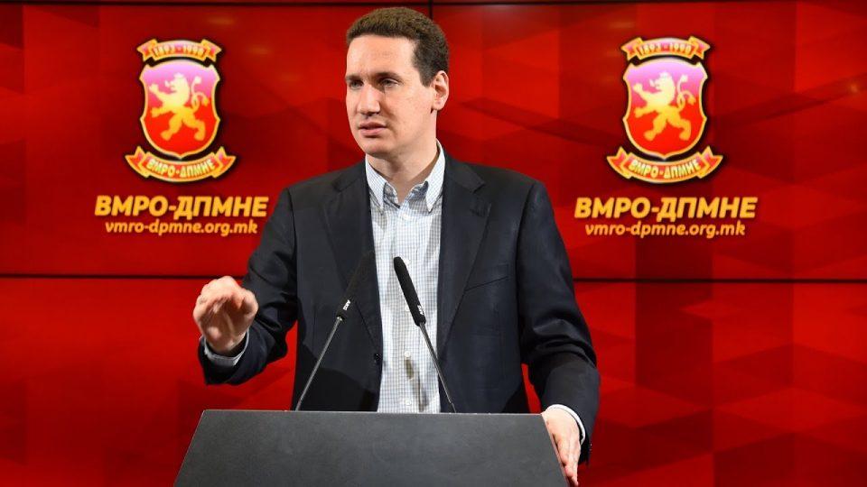 Ѓорчев: ВМРО-ДПМНЕ е подготвена за парламентарни избори во било кое време