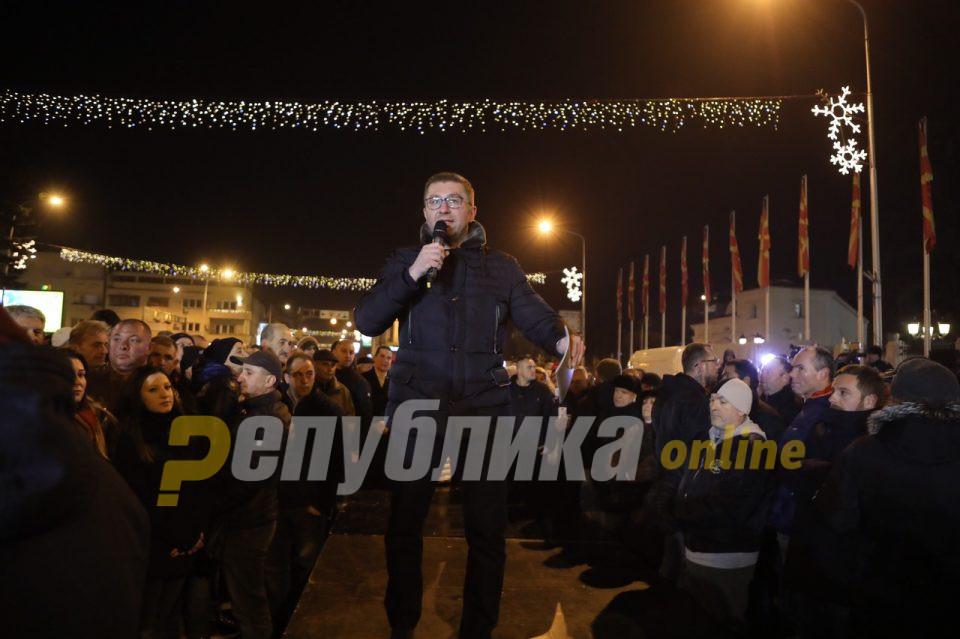 Мицкоски: За 27 април потребна е неселективна правда