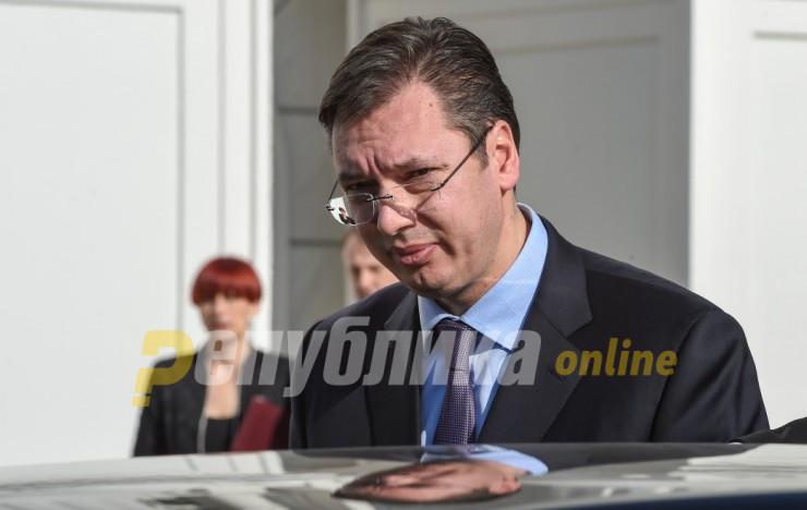 Вучиќ: Опозицијата да каже дали е за избори или сака да ме убие