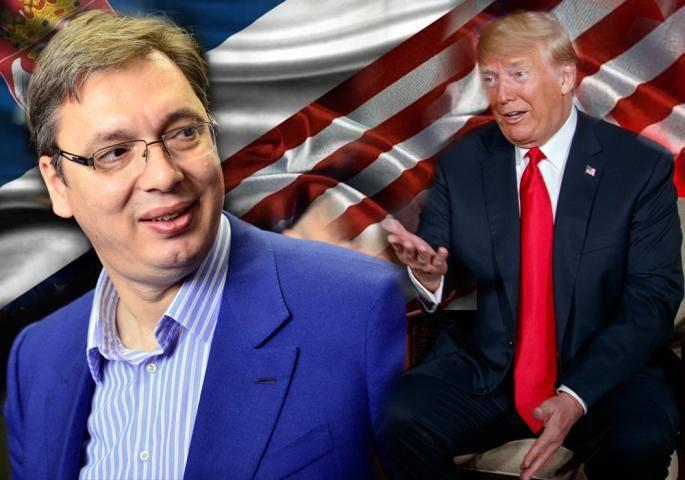 Трамп во писмото до Вучиќ: Би било тажно да ја пропуштите можноста за мир