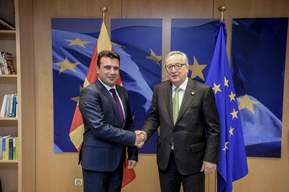 Заев побара од Јункер изземање на македонските компании од антидампинг мерките