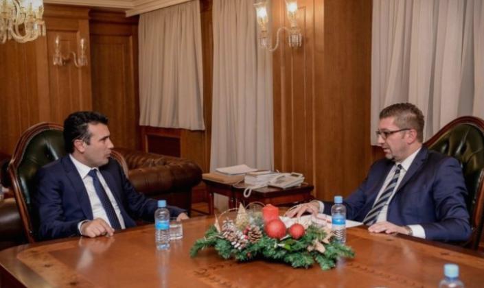 Mицкоски за најавата за обединување од страна на Заев: Тој најмалку има право да зборува за интегрирање на македонскиот блок