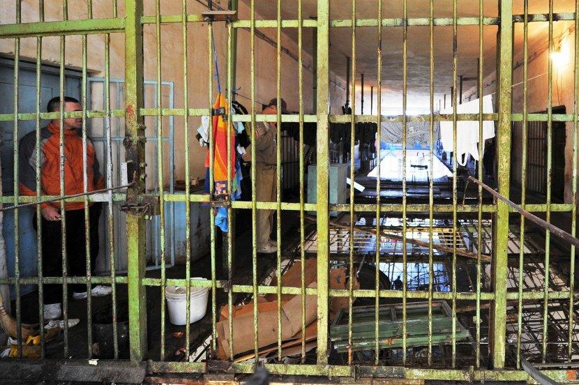 Затвореници се степале во Идризово