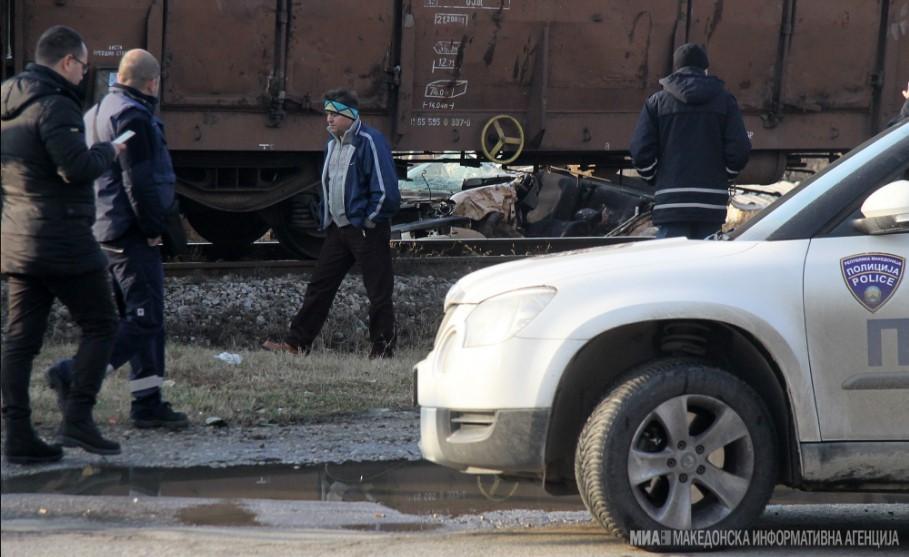 Железничка несреќа кај Сарај, повреден скопјанец