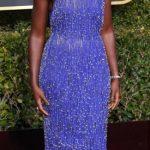Mandatory Credit: Photo by David Fisher/REX/Shutterstock (10048065eq)Lupita Nyong'o76th Annual Golden Globe Awards, Arrivals, Los Angeles, USA - 06 Jan 2019