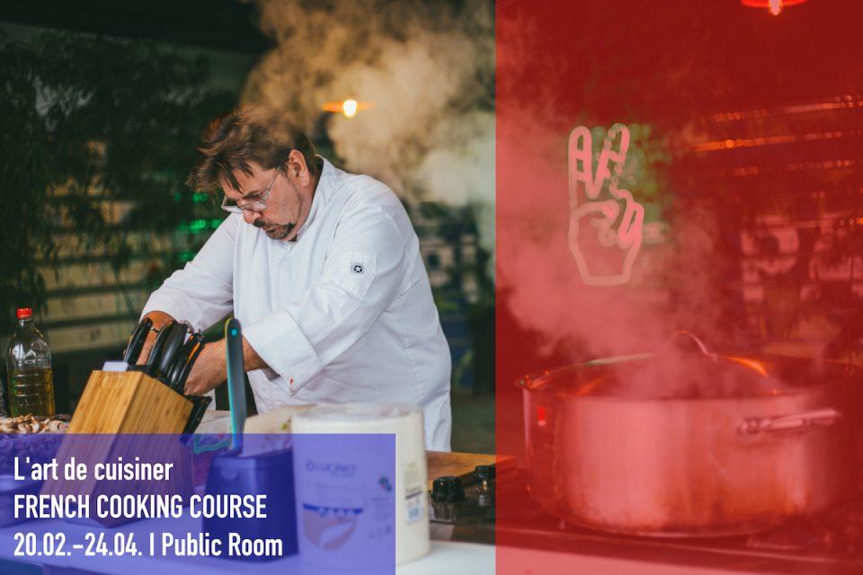 """Мастер шефот Марк де Јонг со курс за готвење во """"Јавна соба"""""""