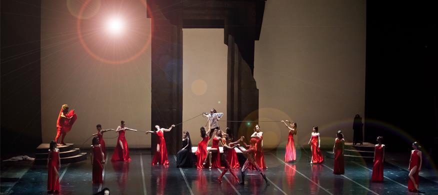 "Балетот ""Самсон и Далила"" на сцената на МОБ"