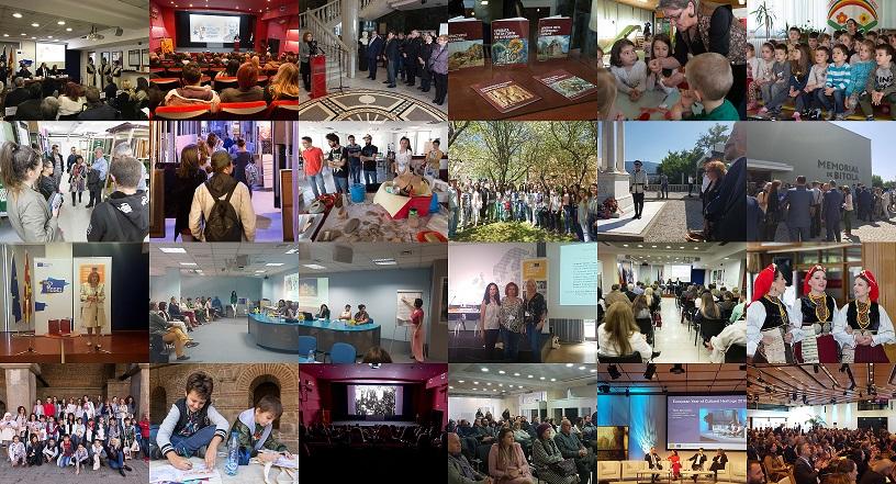 """Реализирани активности во рамките на ,,Европската година на културното наследство 2018"""""""