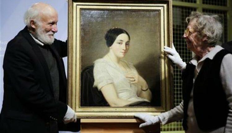 """Германија ја врати сликата која ја украдоа нацистите: """"Портретот на млада жена што седи"""" кај наследниците на Жорж Мандел"""