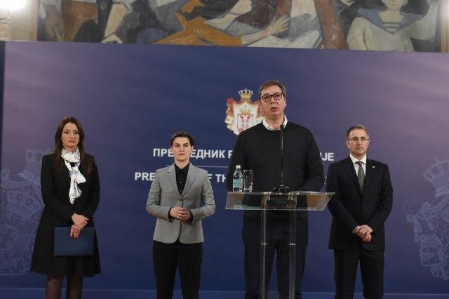 Вучиќ: Ќе воведеме доживотна затворска казна, само Србија, Хрватска, БиХ, Црна Гора и Северна Македонија го немаат ова