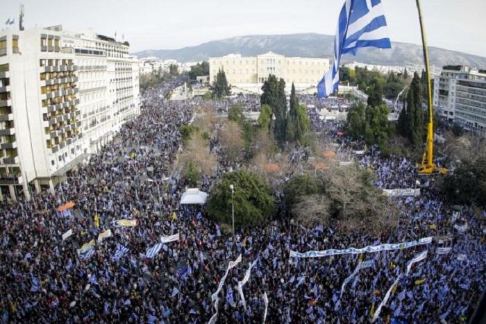На 20 јануари протест во Атина против Договорот од Преспа