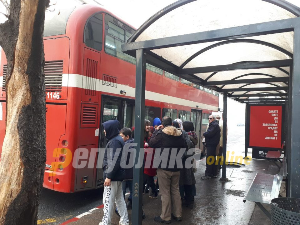 Во 18 часот се укинува бесплатниот јавен превоз во Скопје
