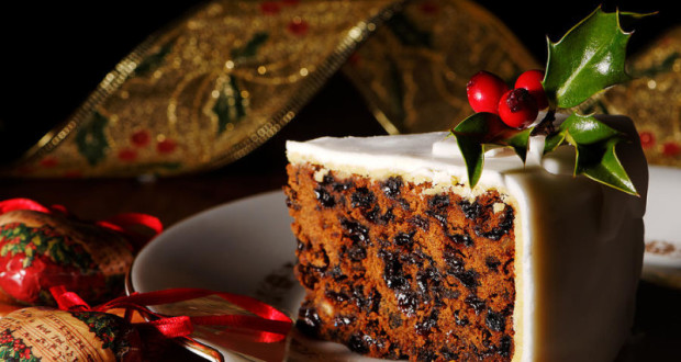 Свечен божиќен колач