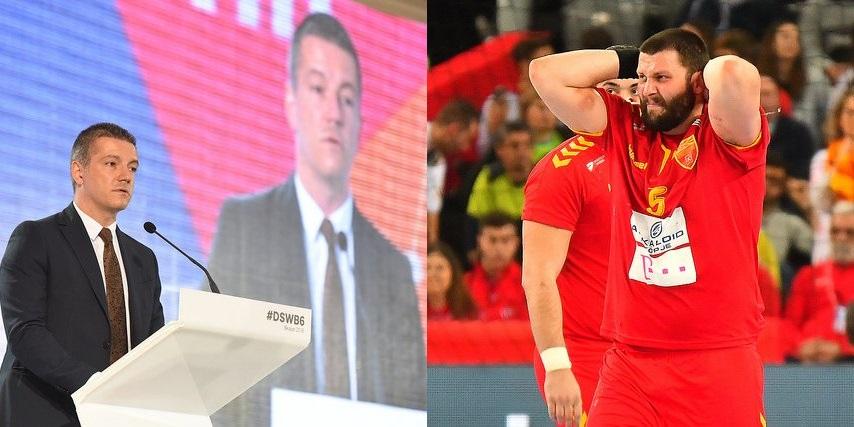 Политиката надвор од спортот, им рече политичарот на спортистите и си премолча за навредите на МТВ2