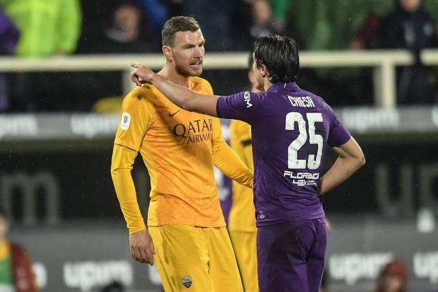 Рома прегазена со 7-1 од Фиорентина, Џеко го плукна судијата