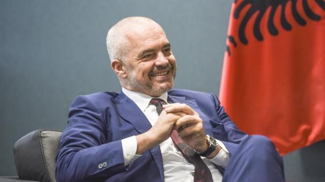 Рама и официјално стана шеф на албанската дипломатија