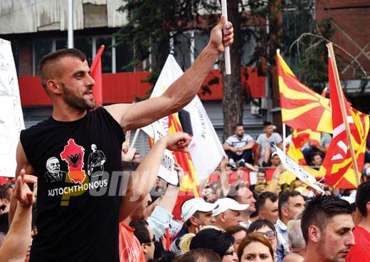 Албанските партии сложни во едно – Законот за јазици нема да се менува