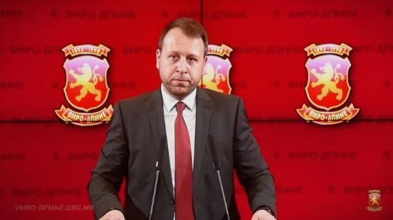 """Јанушев: Случајот """"Талир"""" е директен доказ дека СЈО и Кацарска судството се само неми извршители на наредбите на Заев и СДСМ"""
