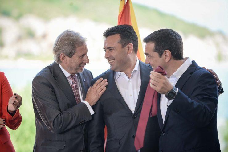 Ципрас до Јункер: Прашање на кредибилитетот на ЕУ е да одлучи за почеток на преговори со Северна Македонија