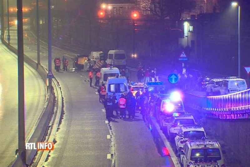 """Камион прегази демонстрант од ,,Жолтите елеци""""во Белгија"""