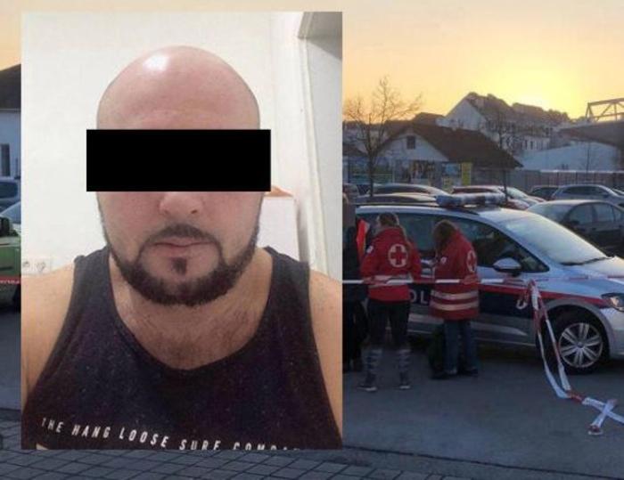 Ова е скопјанецот Џемаил, кој до смрт ја избоде жена му на паркинг во Австрија