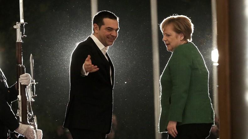 Немири во Атина за посетата на Ангела Меркел