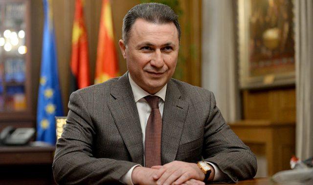 """Разговор со Груевски, ексклузивно за """"Инфомакс"""":  Заев да може би ме удавил во капка вода, а не пак да ми помогнат да ја напуштам земјата!"""