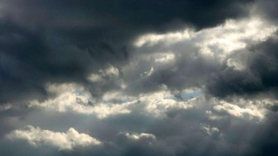 Облачно и ветровито време, со услови за дожд