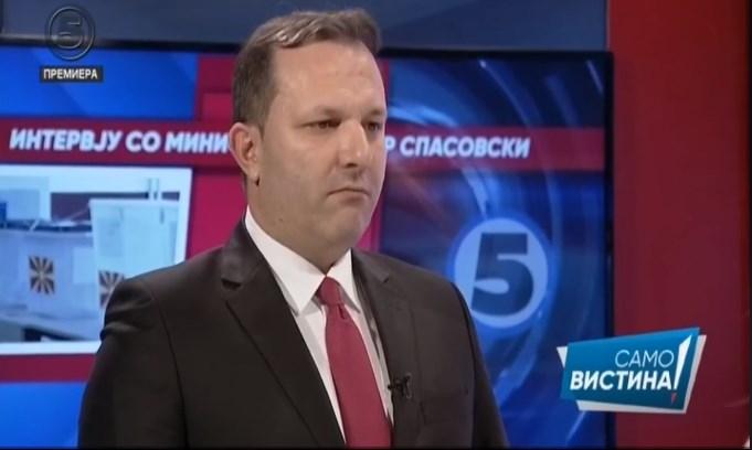 Спасовски: Важно е да избереме кандидат кој ќе биде достоен за претседател