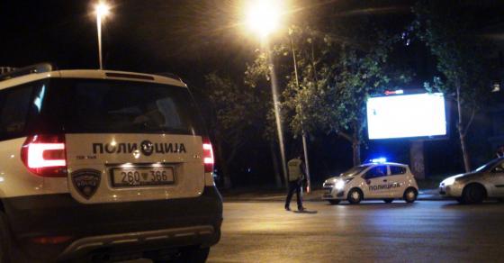 Млад скопјанец уапсен рано утрово, нападнал полицаец