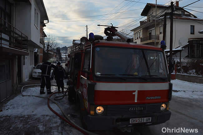 Притвор за тепачот во охридската Пожарна