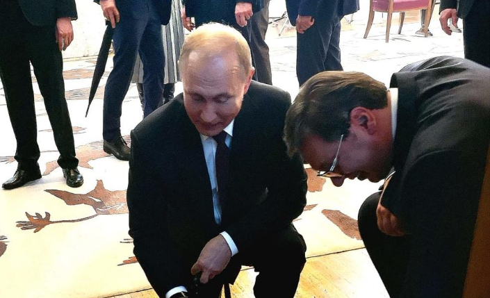 Вучиќ подготвил специјален подарок за Путин: Многу ми се допаѓа, пресладок е