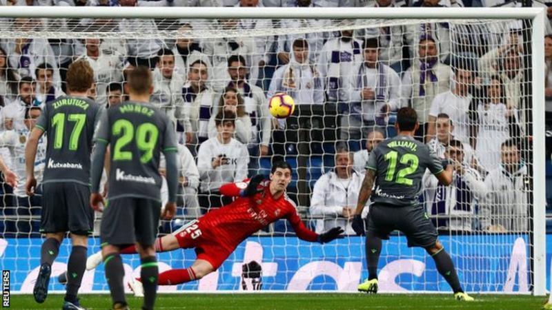Реал Мадрид поразен на домашен терен од Реал Сосиедад