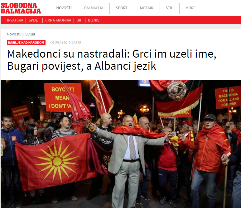 Македонците настрадаа: Грците им го земаа името, Бугарите историјата, Албанците јазикот