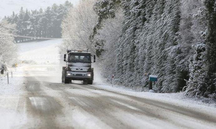 Сообраќајот по влажни коловози, забрана за камиони на преминот Стража