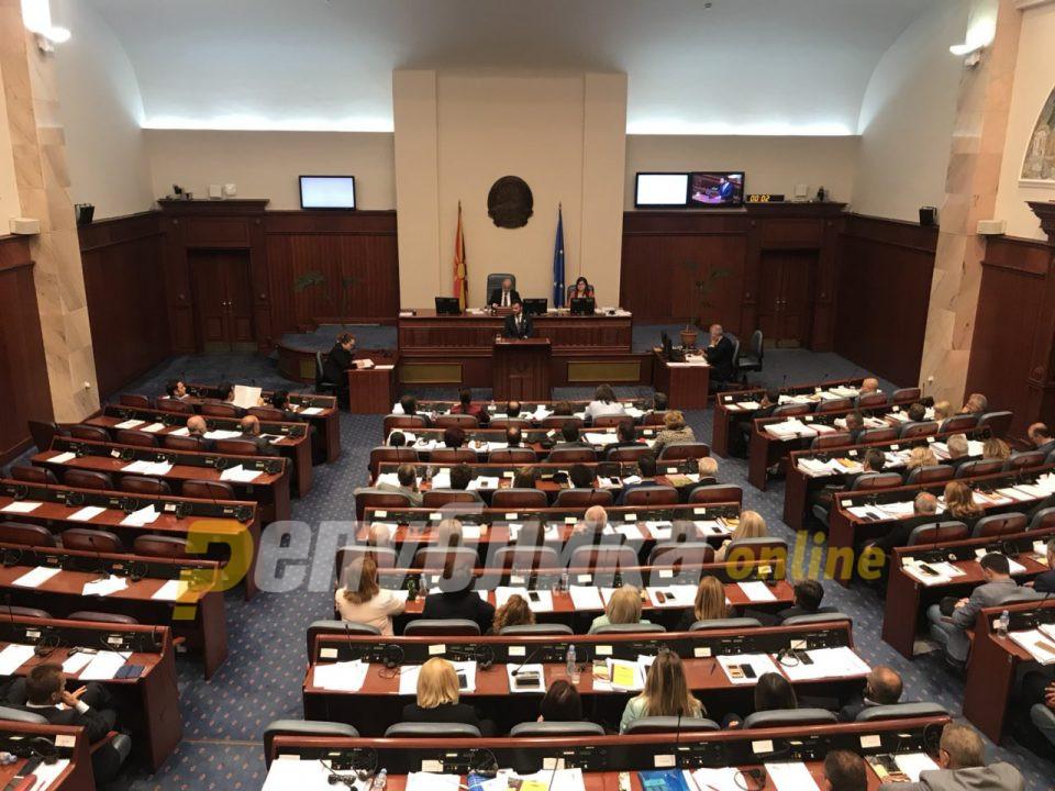 Угриновски: По 3 милиони евра се нудат на пратеници да гласаат за промена на името